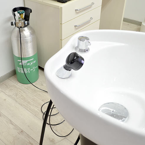 J'sでは施術の際に炭酸泉を使用しています!